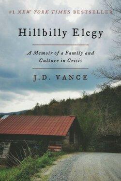 Portada del libro Hillbilly Elegy de JD Vance