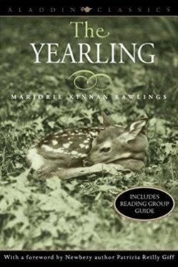 Portada del libro The Yearling de Marjorie K. Rawlings