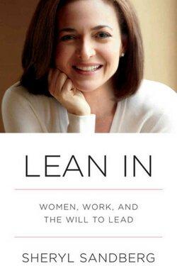 Portada del libro Lean In por Sheryl Sandberg