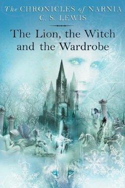 Portada del libro El león, la bruja y el armario de CS Lewis