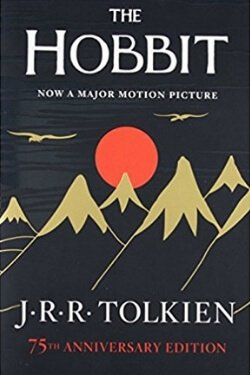 Portada del libro El Hobbit de JRR Tolkien