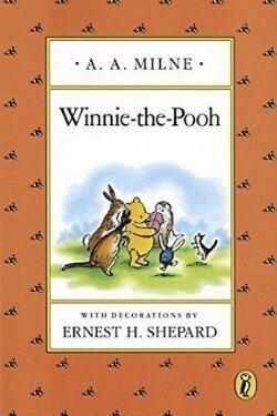 Portada del libro Winnie-the-Pooh de AA Milne
