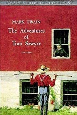 Portada del libro Las aventuras de Tom Sawyer de Mark Twain