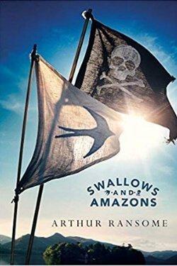 Portada del libro Golondrinas y Amazonas de Arthur Ransome