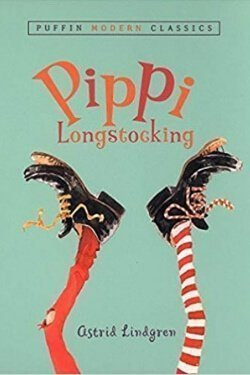 Portada del libro Pippi Calzaslargas de Astrid Lindgren