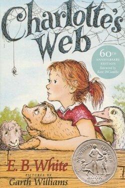 Portada del libro Charlotte's Web de EB White
