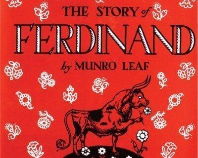 Portada del libro La historia de Ferdinand por Munro Leaf