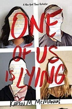Portada del libro One of Us Is Lying de Karen McManus